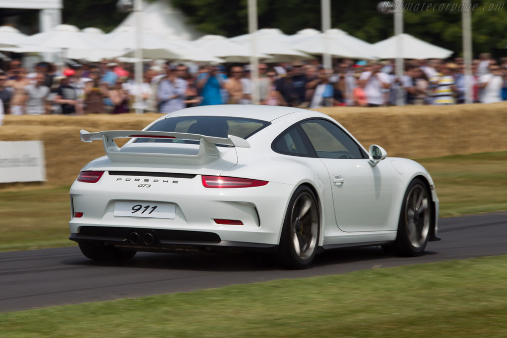 Porsche 911 GT3    - 2013 Goodwood Festival of Speed