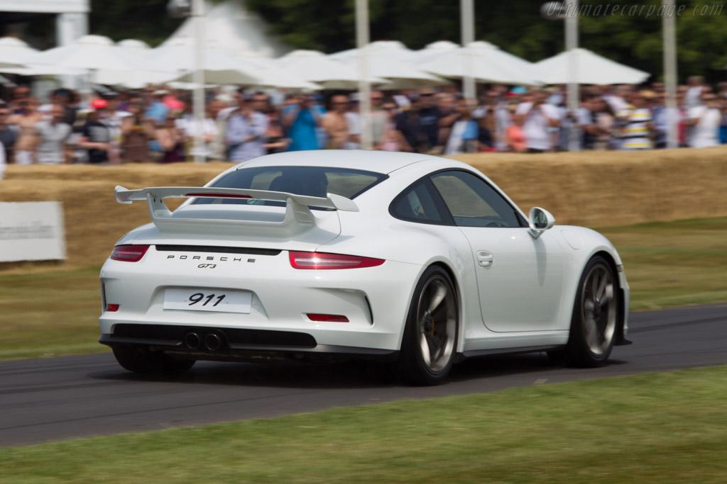 Porsche 911 GT3    - 2013 Goodwood Festival of Speed