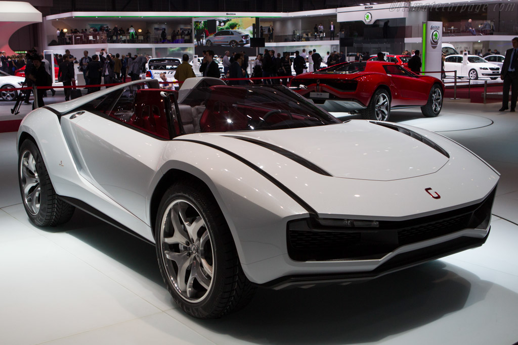 2013 italdesign parcour roadster images specifications and information. Black Bedroom Furniture Sets. Home Design Ideas