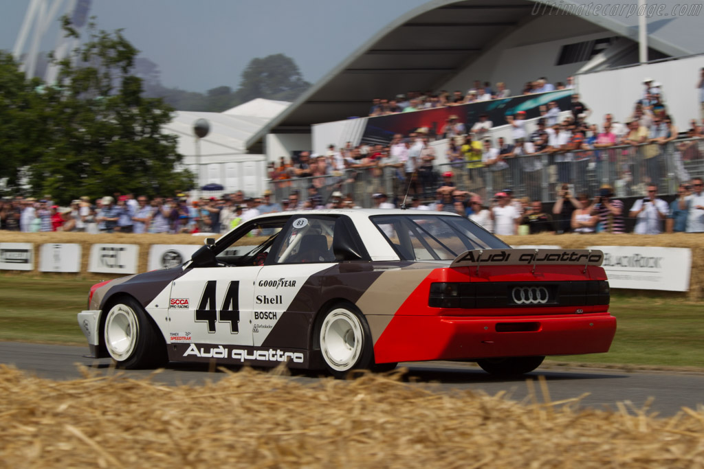 Audi 200 Quattro Trans-Am - Chassis: TA3 - Driver: Allan McNish  - 2013 Goodwood Festival of Speed
