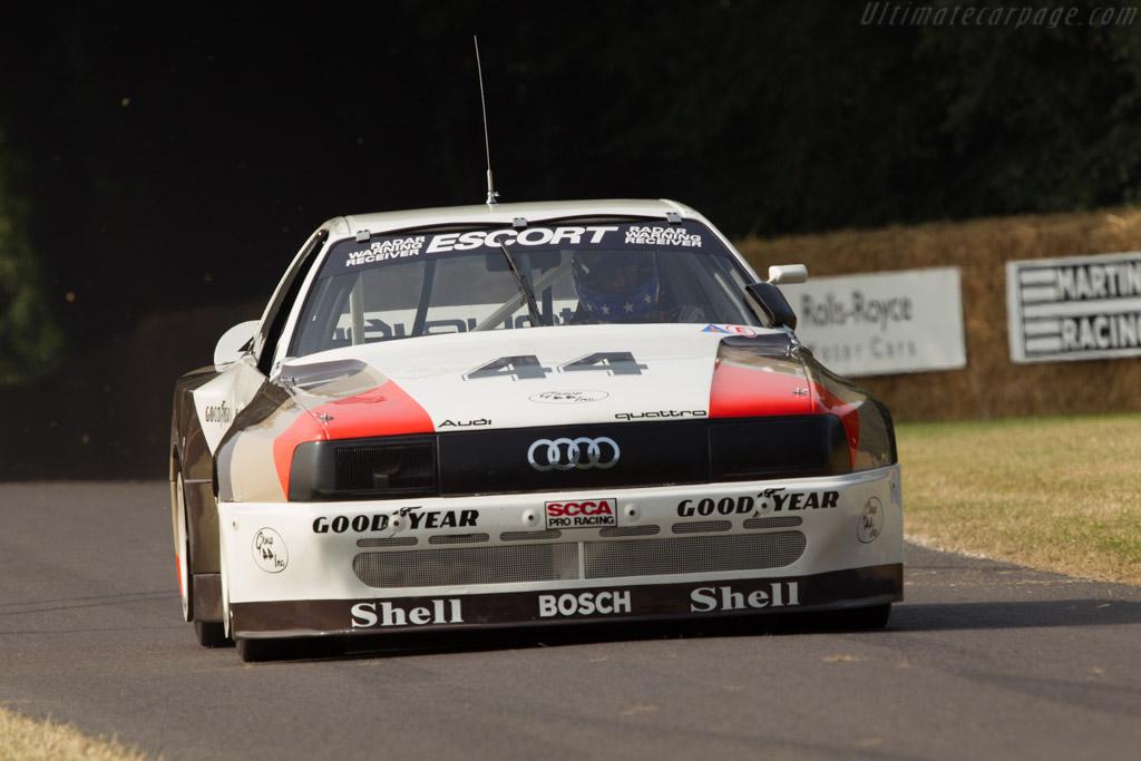 Audi 200 Quattro Trans-Am - Chassis: TA3 - Driver: Hans Joachim Stuck  - 2013 Goodwood Festival of Speed