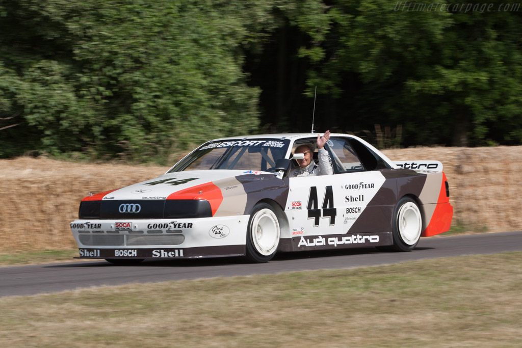 Audi 200 Quattro Trans-Am - Chassis: TA3 - Driver: Hans Joachim Stuck  - 2013 Goodwood Festival of Speed
