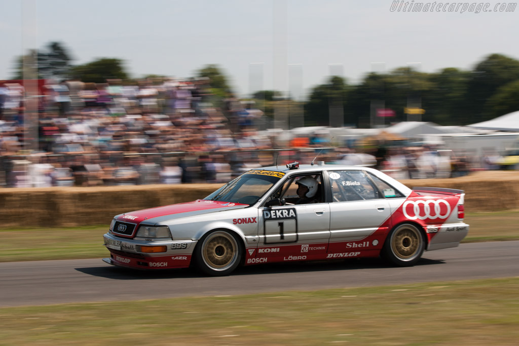 Audi V8 Quattro DTM    - 2009 Goodwood Festival of Speed