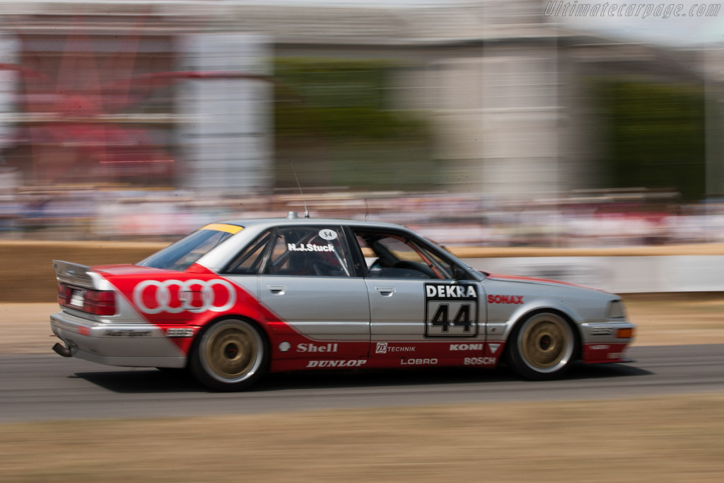 Audi V8 Quattro DTM    - 2010 Goodwood Festival of Speed