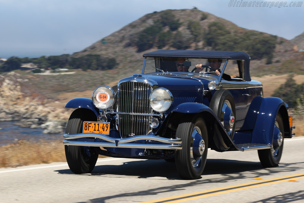 Click here to open the Duesenberg J Murphy Disappearing Top Torpedo Drophead Coupe gallery