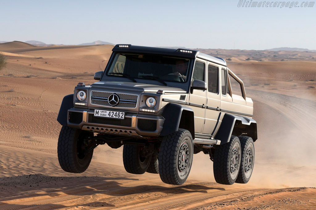 Click here to open the Mercedes-Benz G 63 AMG 6x6 gallery