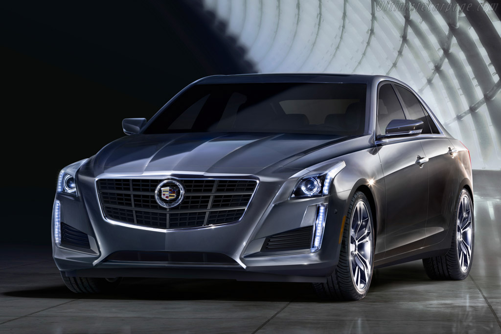 Click here to open the Cadillac CTS Vsport gallery