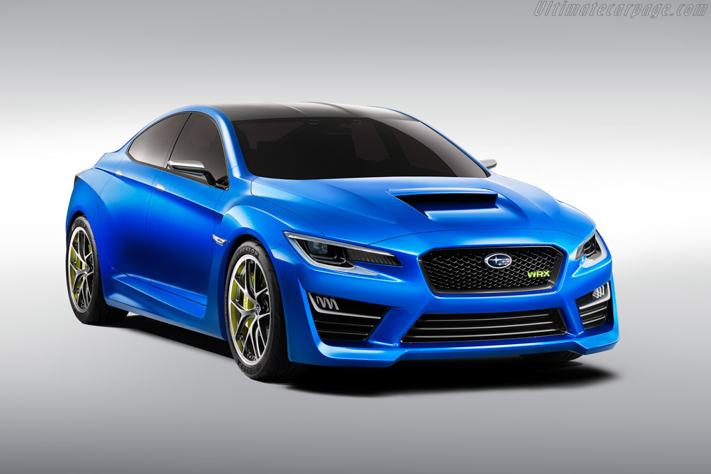 Click here to open the Subaru WRX Concept gallery