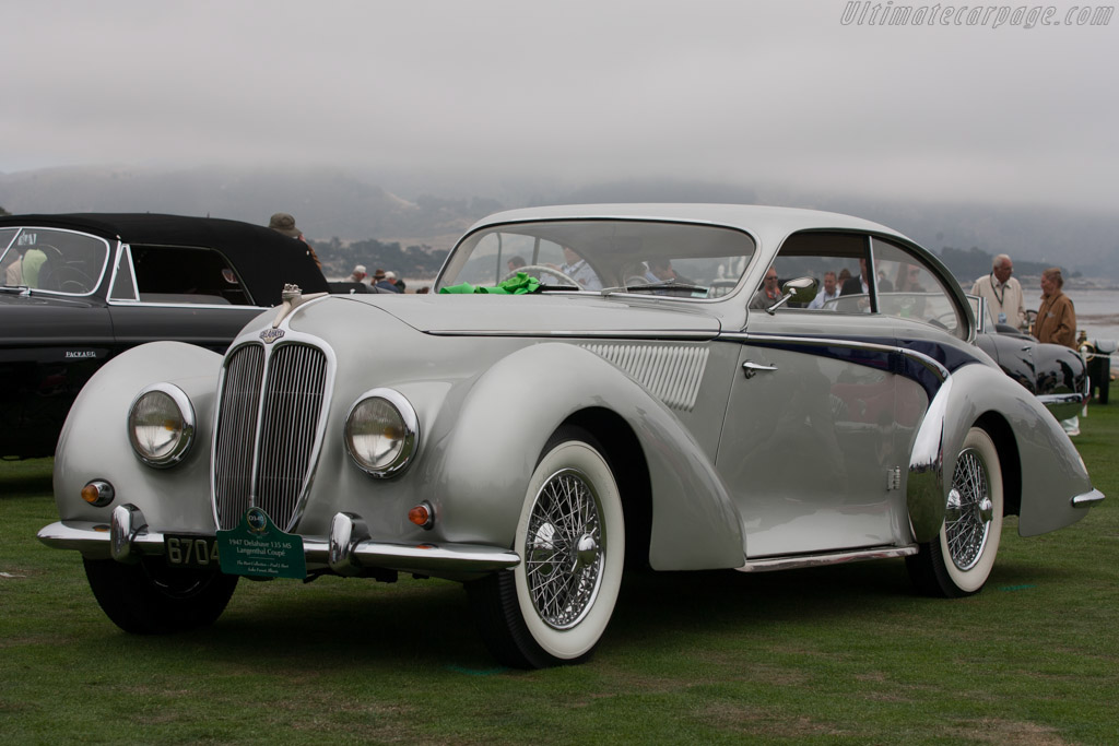 Delahaye 135 MS Langenthal Coupe - Chassis: 800490   - 2012 Pebble Beach Concours d'Elegance