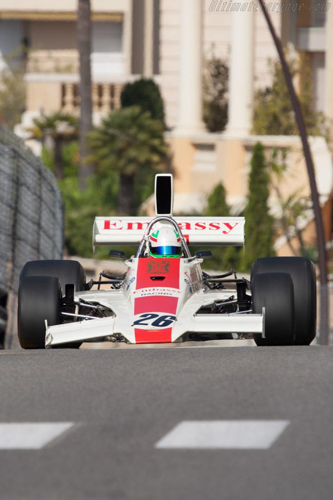 Lola T370 Cosworth - Chassis: HU1   - 2012 Monaco Historic Grand Prix