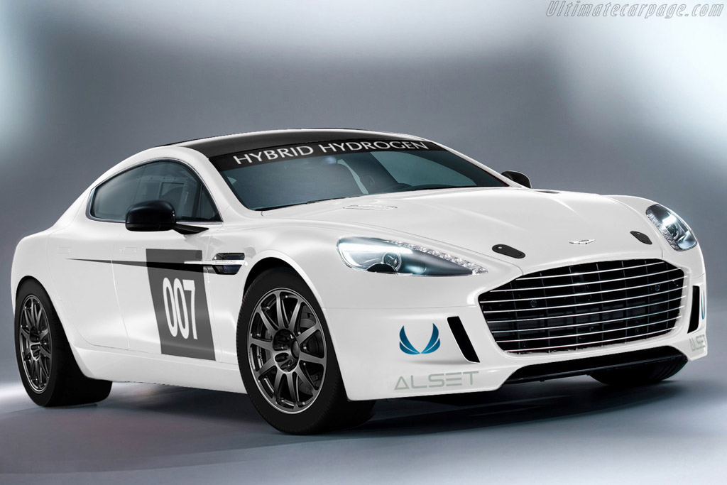 Click here to open the Aston Martin Rapide S Hydrogen gallery