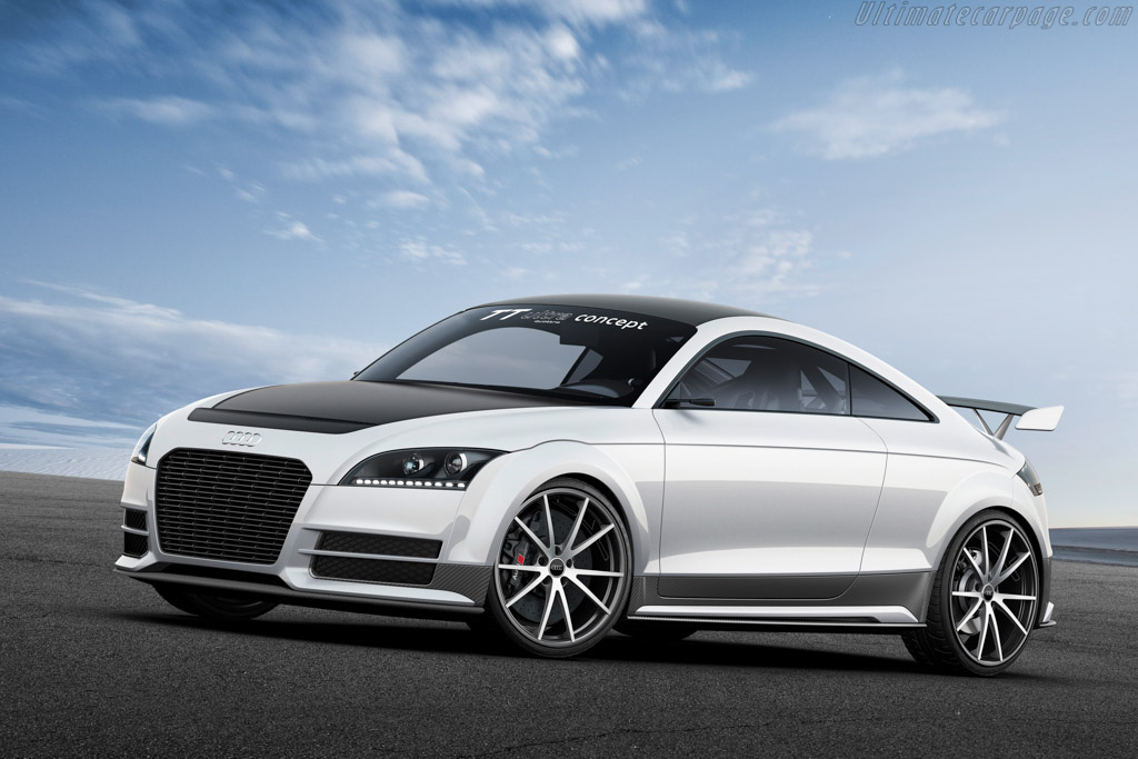 Click here to open the Audi TT Ultra Quattro Concept gallery