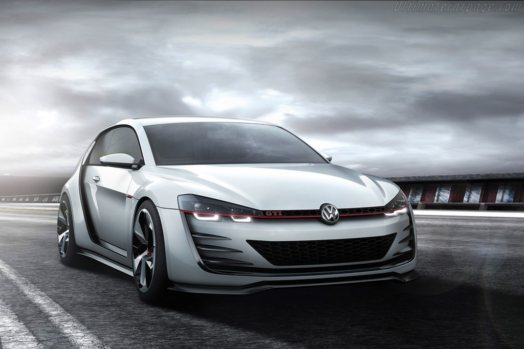 Click here to open the Volkswagen Design Vision GTI gallery