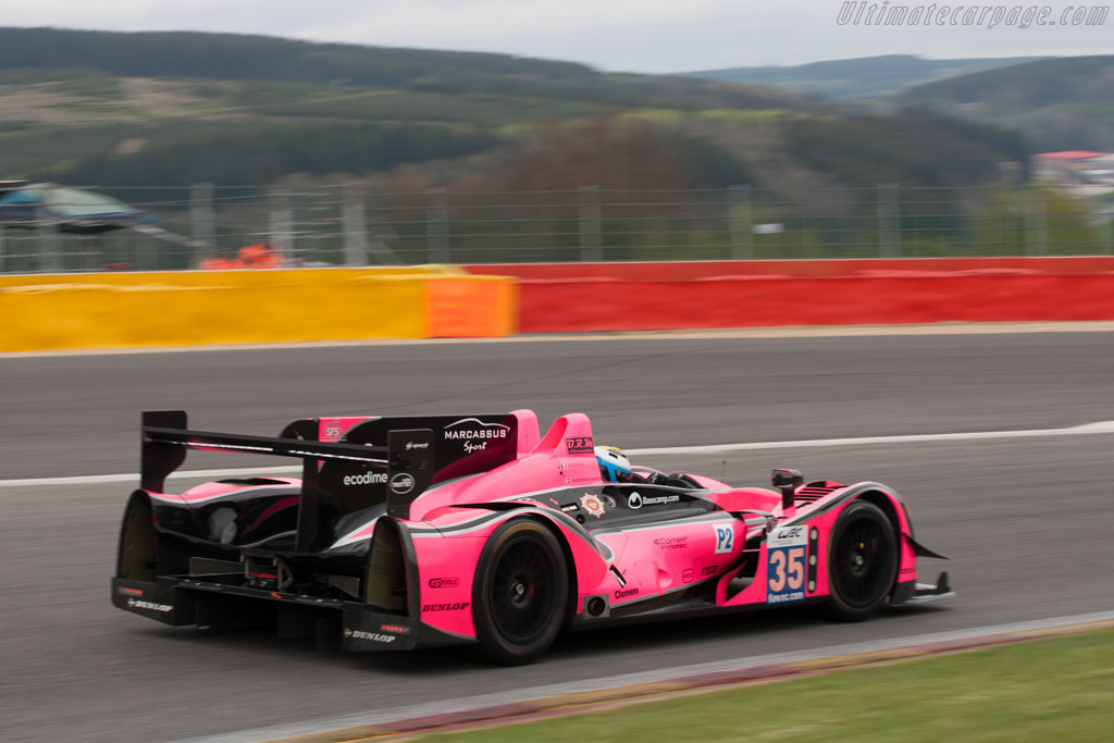 Morgan LMP2 Judd - Chassis: 01-15   - 2012 WEC 6 Hours of Spa-Francorchamps