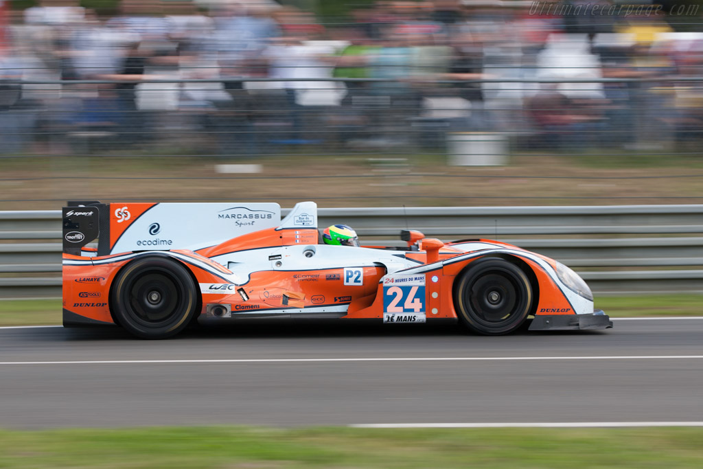 Morgan LMP2 Judd - Chassis: 01-14   - 2012 24 Hours of Le Mans