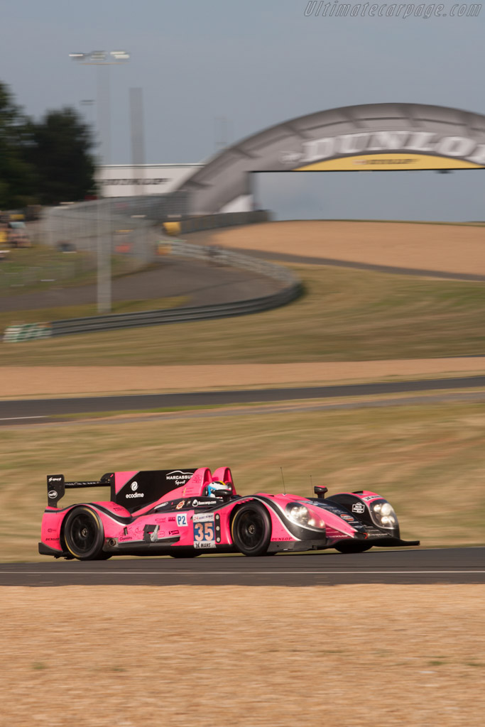 Morgan LMP2 Nissan - Chassis: 01-15   - 2012 24 Hours of Le Mans