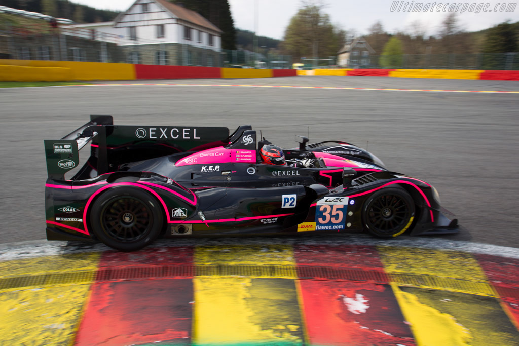 Morgan LMP2 Nissan - Chassis: 01-14   - 2013 WEC 6 Hours of Spa-Francorchamps