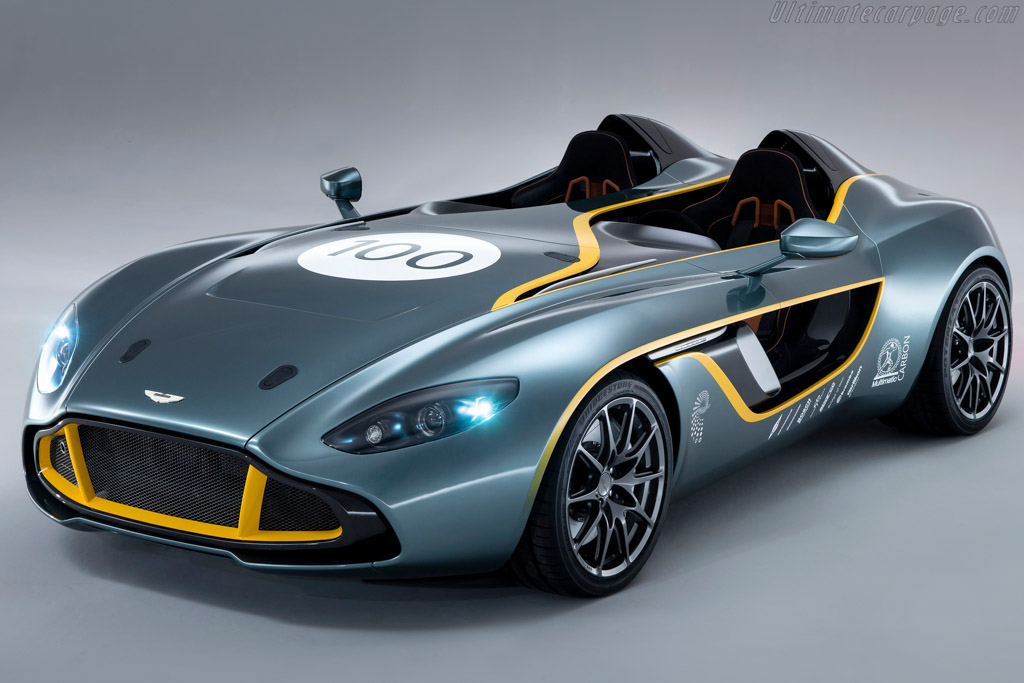Click here to open the Aston Martin CC100 Speedster gallery