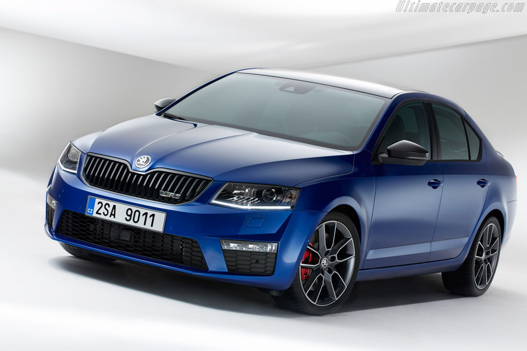 Click here to open the Skoda Octavia vRS gallery