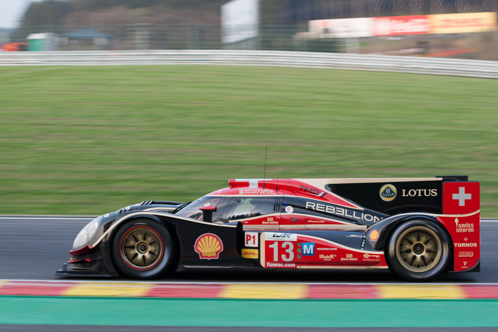 Lola B12/60 Toyota - Chassis: B0980-HU01S   - 2013 WEC 6 Hours of Spa-Francorchamps