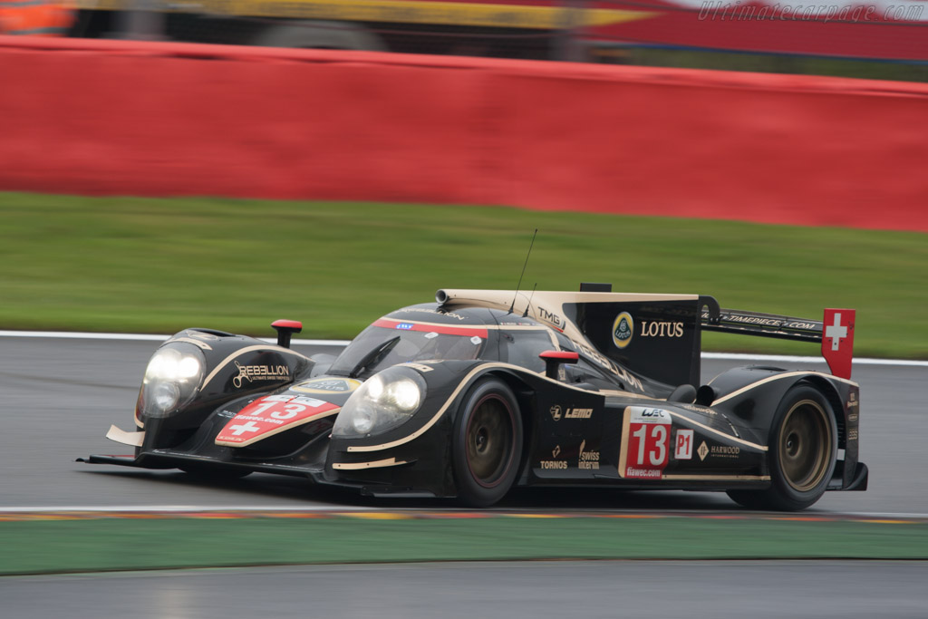 Lola B12/60 Toyota - Chassis: B0980-HU01S   - 2012 WEC 6 Hours of Spa-Francorchamps