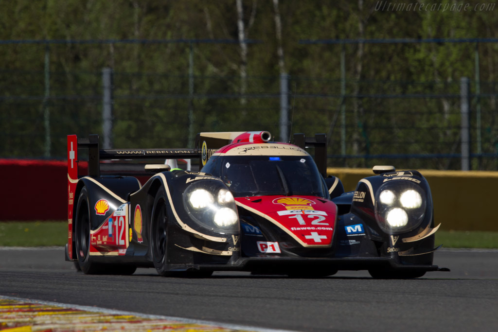 Lola B12/60 Toyota - Chassis: B1060-HU01   - 2013 WEC 6 Hours of Spa-Francorchamps