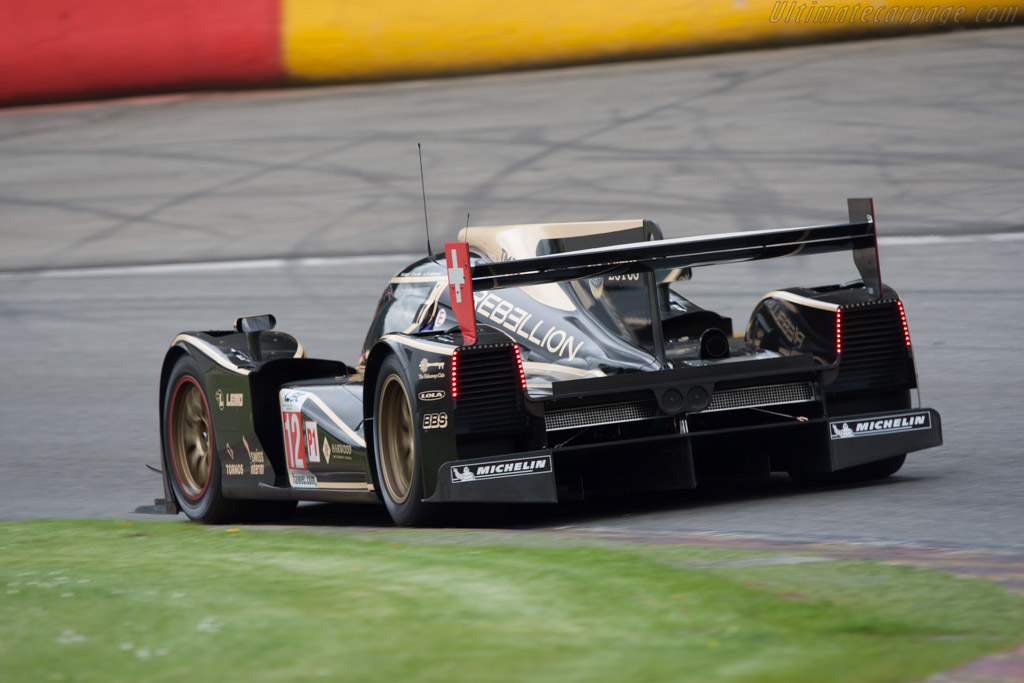Lola B12/60 Toyota - Chassis: B1060-HU01   - 2012 WEC 6 Hours of Spa-Francorchamps