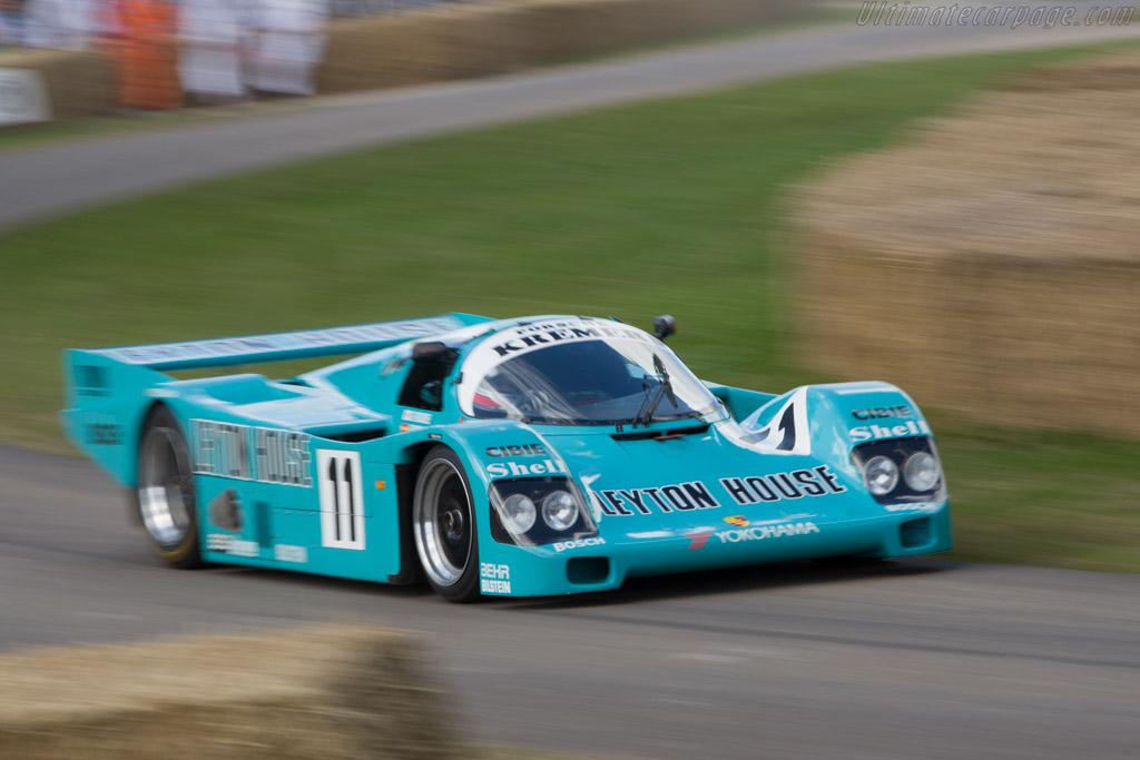 Porsche 962 CK6 - Chassis: CK6-87   - 2008 Goodwood Festival of Speed