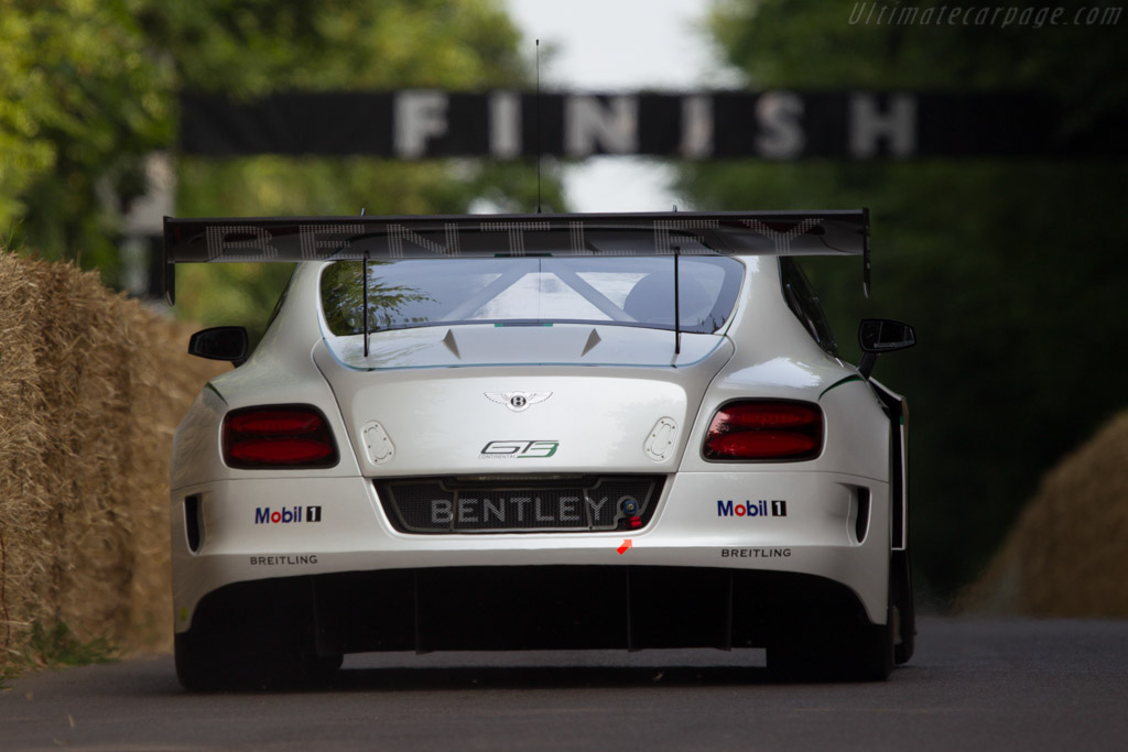 Bentley Continental GT3    - 2013 Goodwood Festival of Speed