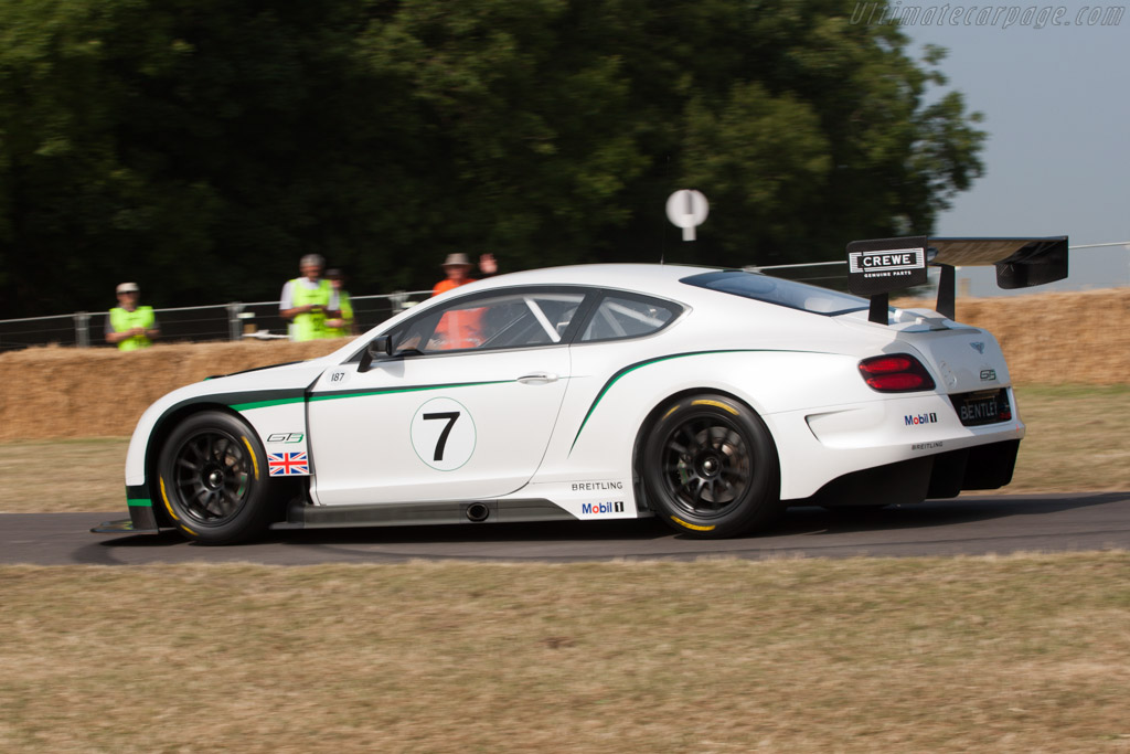 Bentley Continental GT3    - 2013 Goodwood Festival of Speed