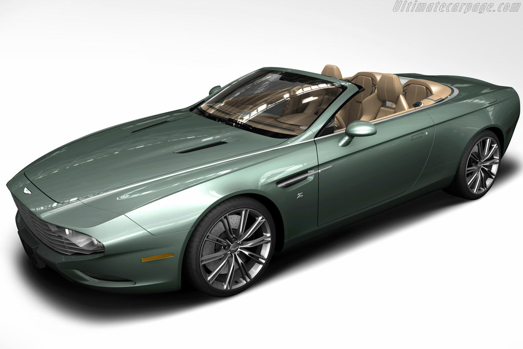 Click here to open the Aston Martin DB9 Zagato Spyder Centennial gallery