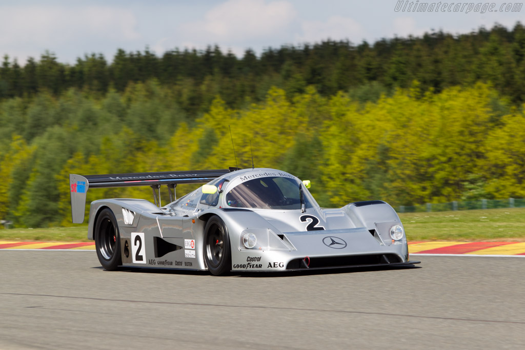 Click here to open the Sauber Mercedes C11 gallery