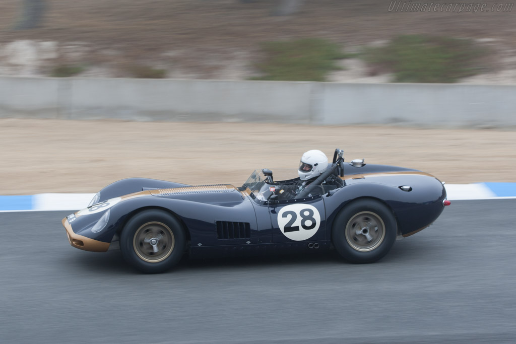 Lister Knobbly Jaguar - Chassis: BHL 119   - 2010 Monterey Motorsports Reunion