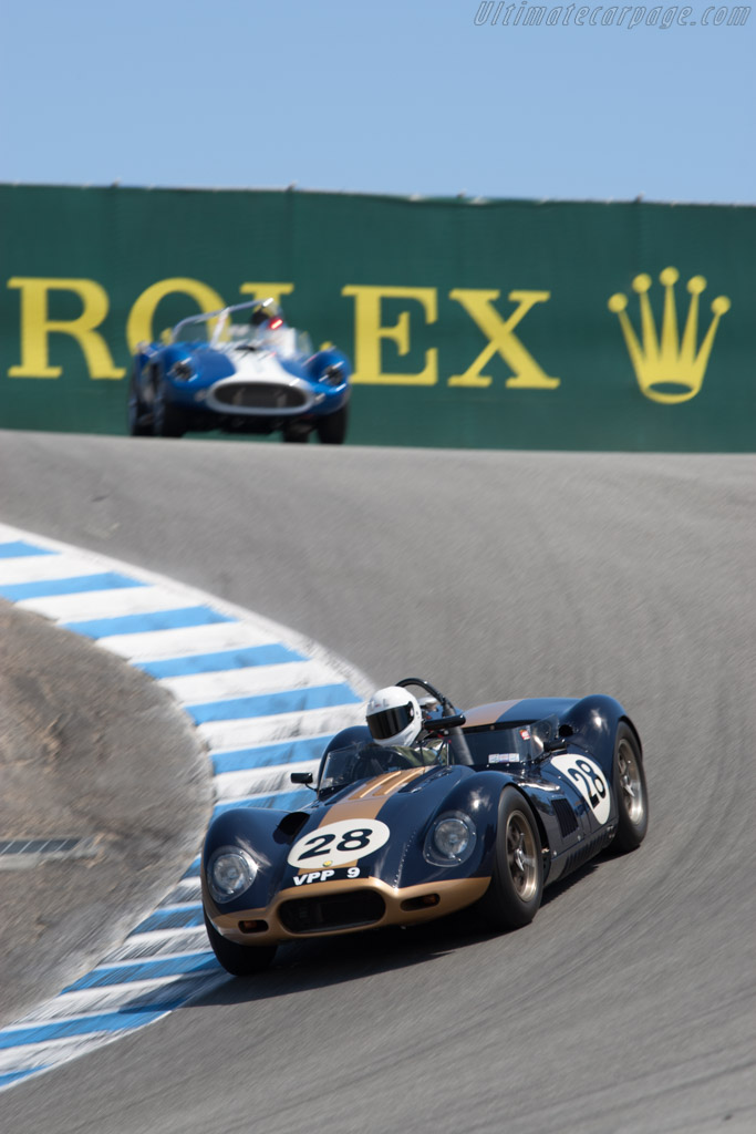 Lister Knobbly Jaguar - Chassis: BHL 119   - 2011 Monterey Motorsports Reunion