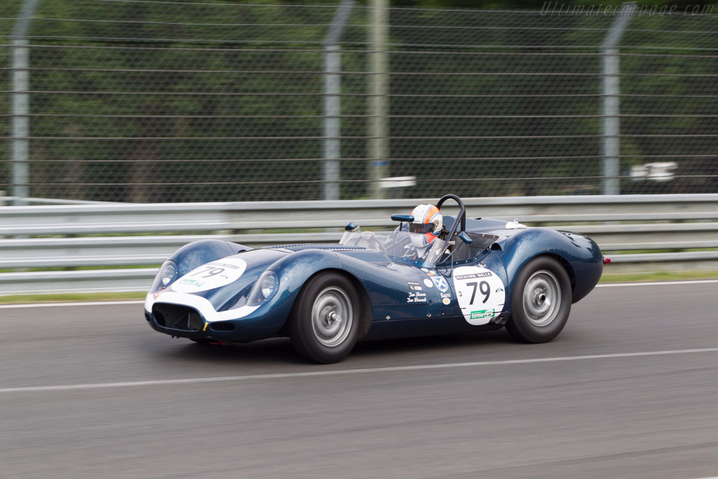 Lister Knobbly Jaguar - Chassis: BHL 104   - 2014 Le Mans Classic