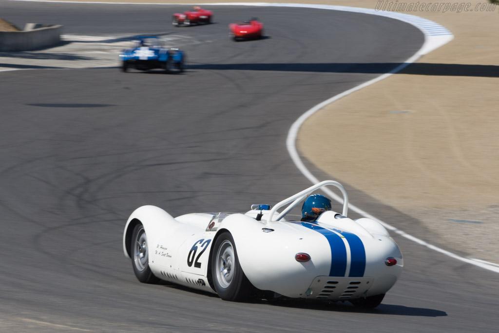 Lister Knobbly Jaguar - Chassis: BHL 102   - 2008 Monterey Historic Automobile Races