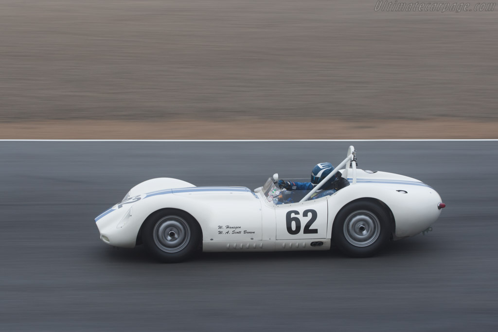 Lister Knobbly Jaguar - Chassis: BHL 102   - 2010 Monterey Motorsports Reunion
