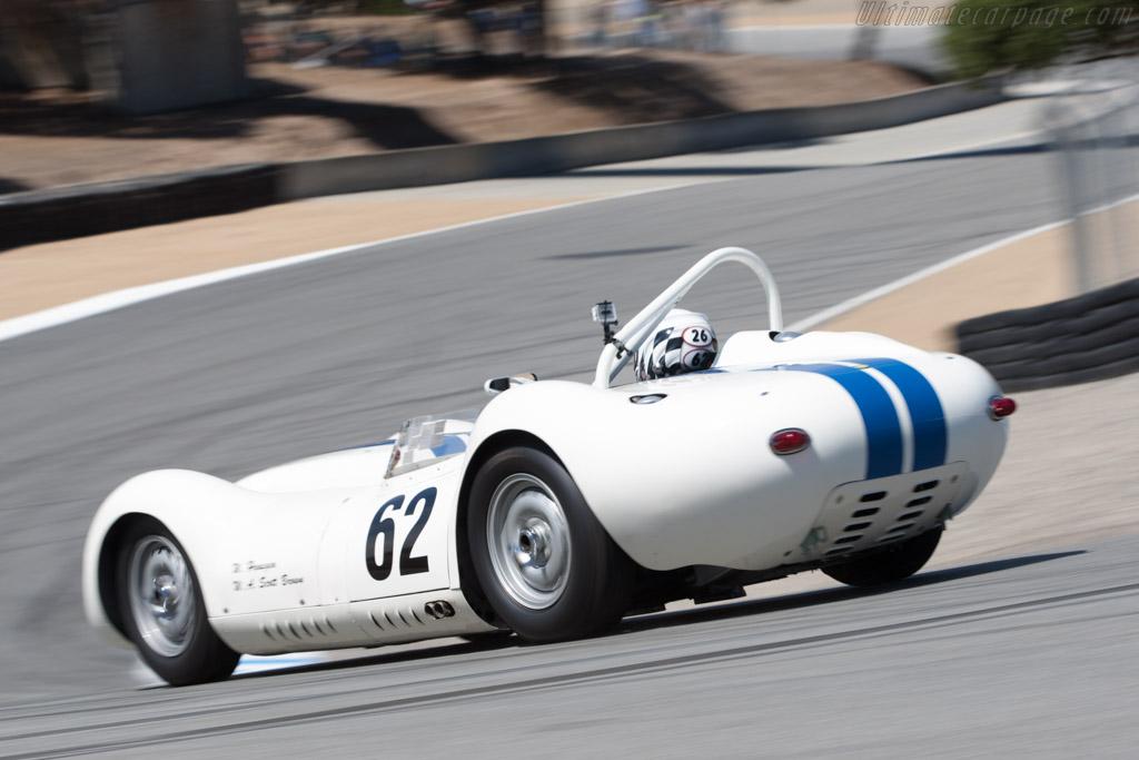 Lister Knobbly Jaguar - Chassis: BHL 102  - 2011 Monterey Motorsports Reunion