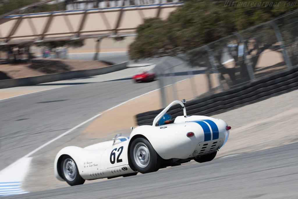 Lister Knobbly Jaguar - Chassis: BHL 102   - 2012 Monterey Motorsports Reunion