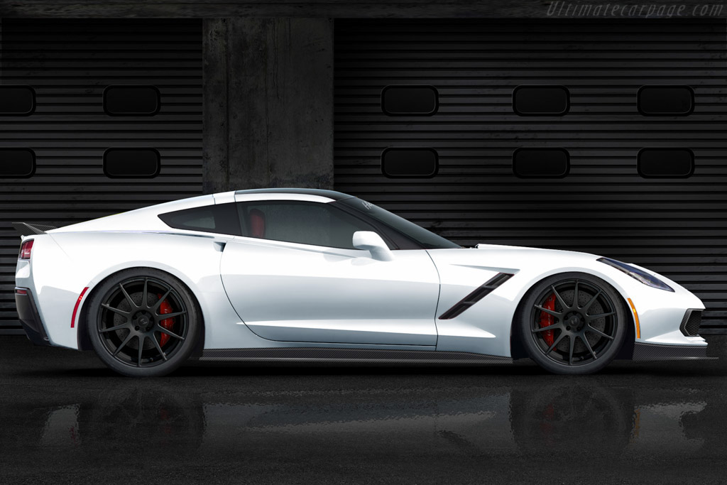 Click here to open the Hennessey HPE700 Supercharged Corvette gallery