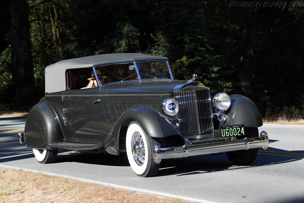 Click here to open the Packard 1108 Twelve Dietrich Convertible Victoria gallery