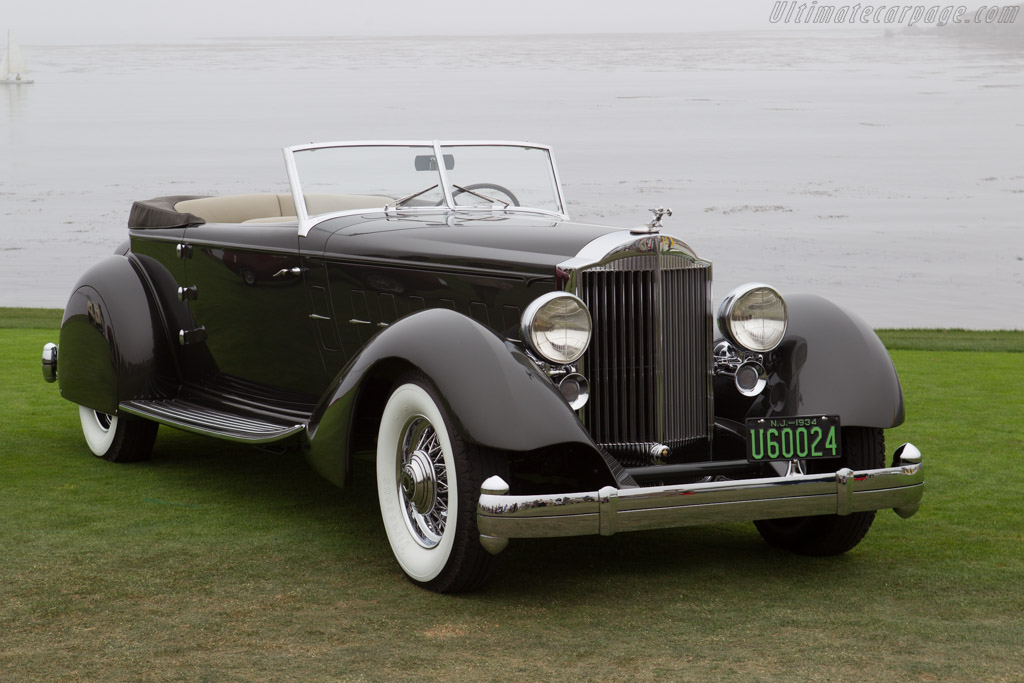 Packard 1108 Twelve Dietrich Convertible Victoria - Chassis: 1108-65   - 2013 Pebble Beach Concours d'Elegance