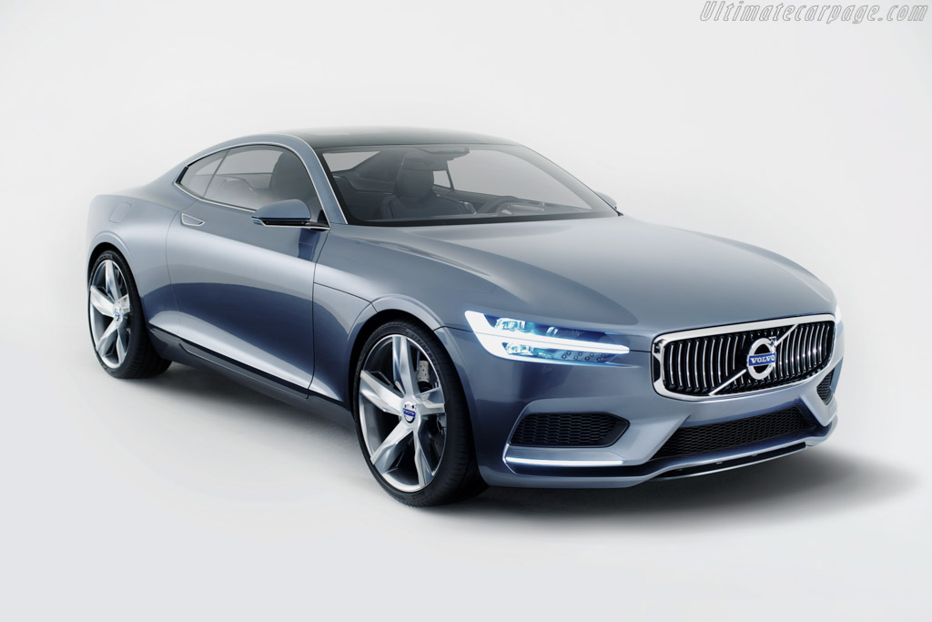 Click here to open the Volvo Concept Coupé gallery