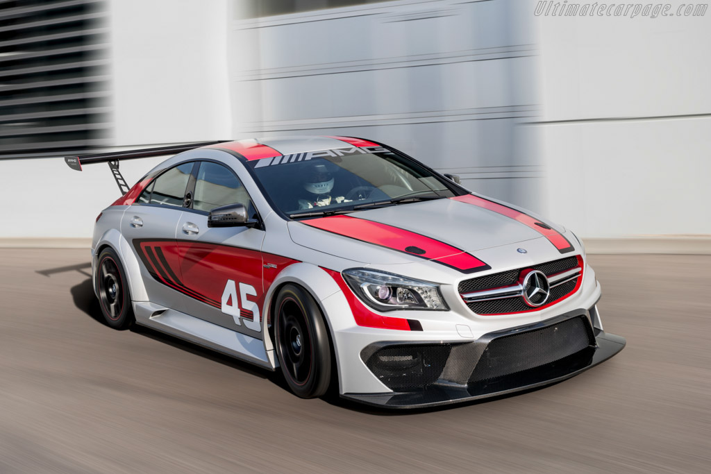 Click here to open the Mercedes-Benz CLA 45 AMG Racing Series gallery