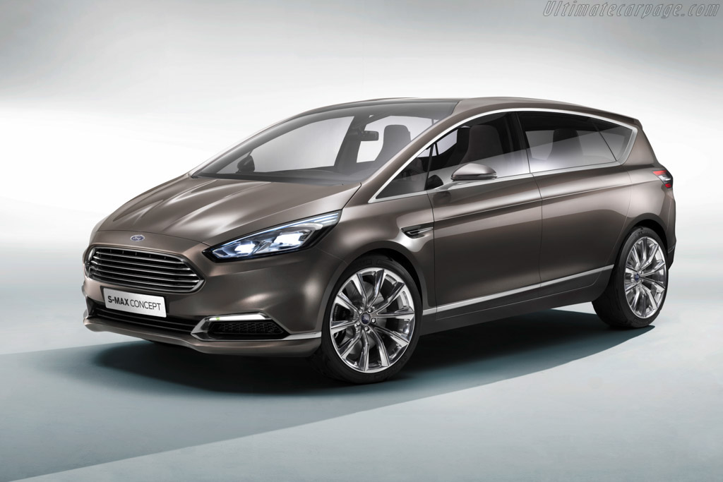 Click here to open the Ford S-Max Concept gallery