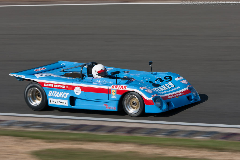 Lola T290 Cosworth - Chassis: HU02   - 2009 Le Mans Series Silverstone 1000 km
