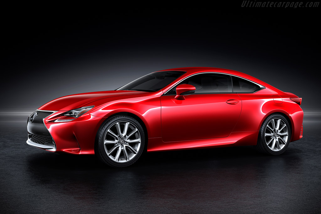 Click here to open the Lexus RC 350 gallery