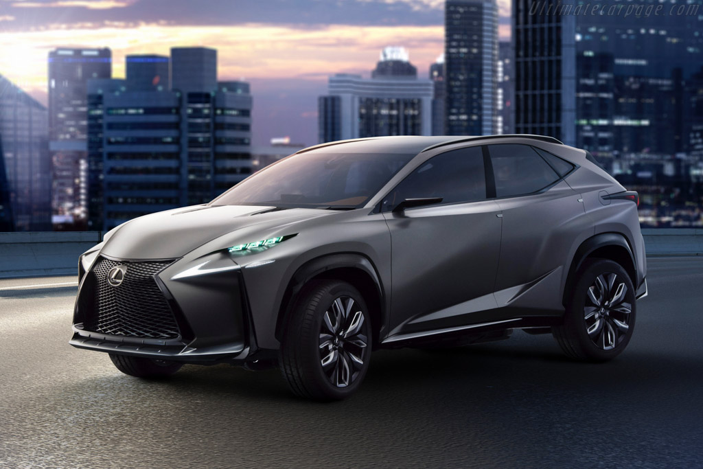 Click here to open the Lexus LF-NX Turbo Concept gallery