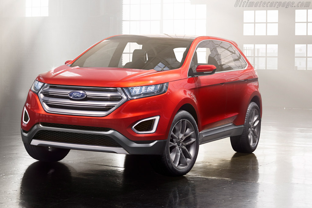 Click here to open the Ford Edge Concept gallery