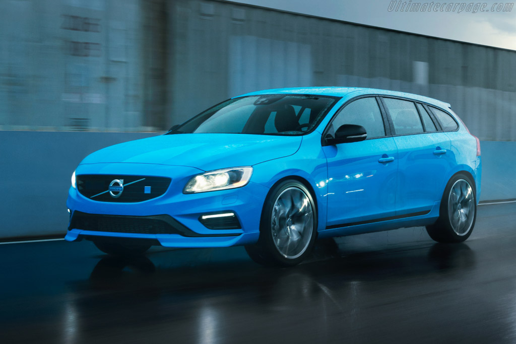 Click here to open the Volvo V60 Polestar gallery